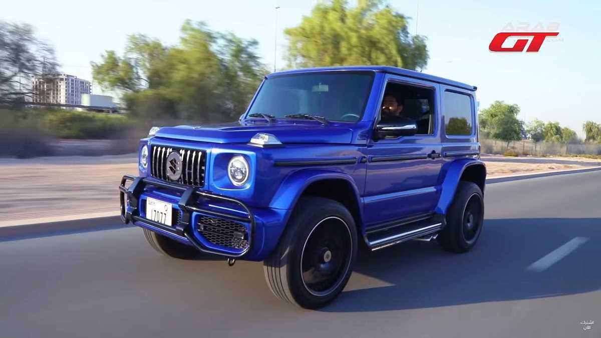 Автомобиль стал очень похож на Mercedes-Benz G-Class