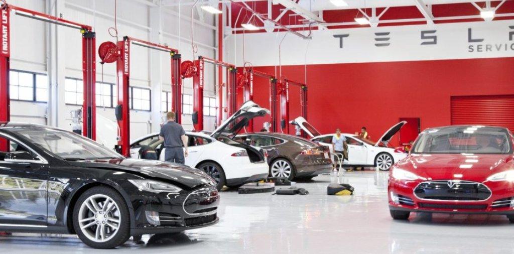 Сервисный центр Tesla