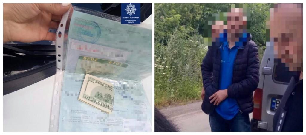 Мужчина пытался избежать наказания и предложил полицейским взятку