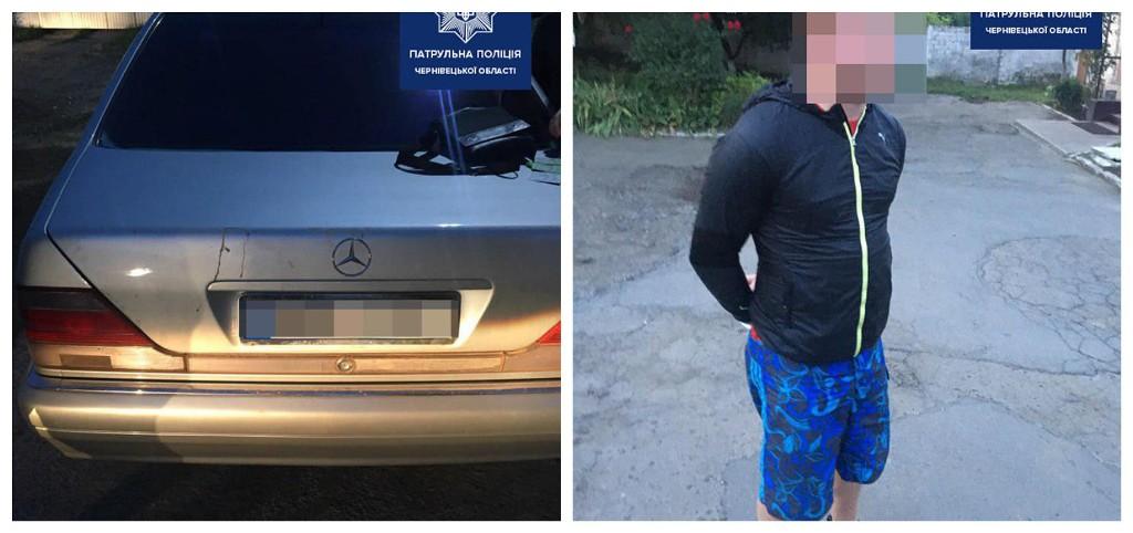 Мужчина пытался уйти от преследования, но был задержан полицией