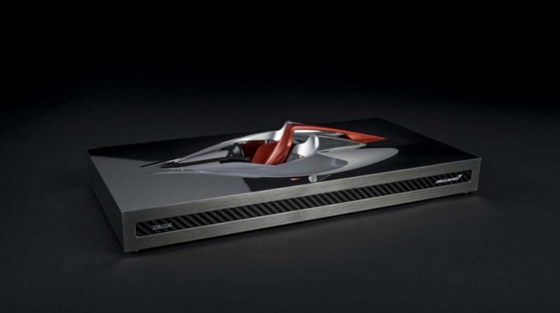 Настольная статуэтка McLaren Speedtail