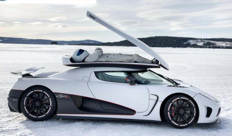 Багажник для гиперкара Koenigsegg Agera