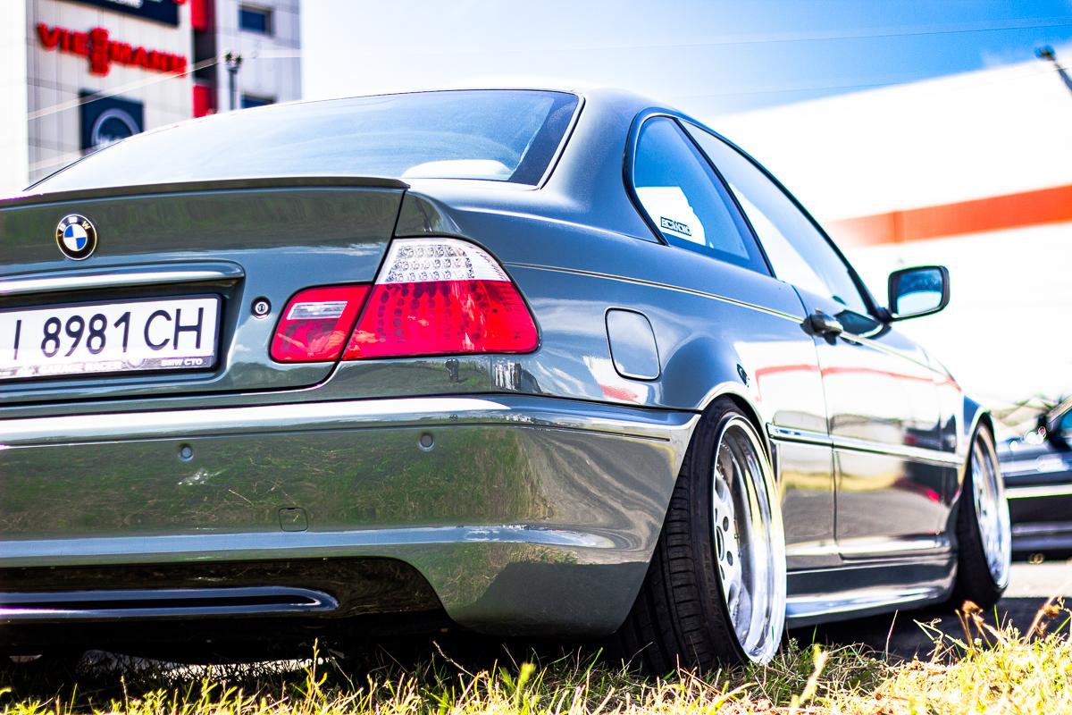 Посаженная BMW E46