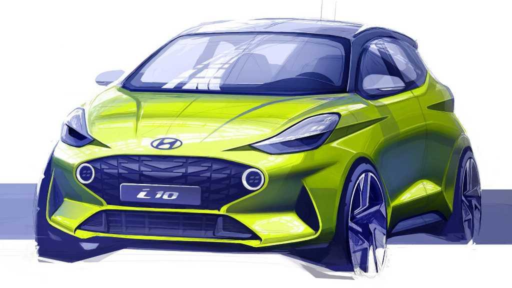 Тизер Hyundai i10