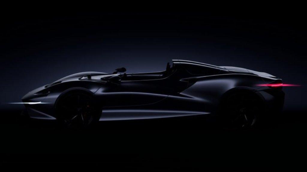 Новый родстер от McLaren