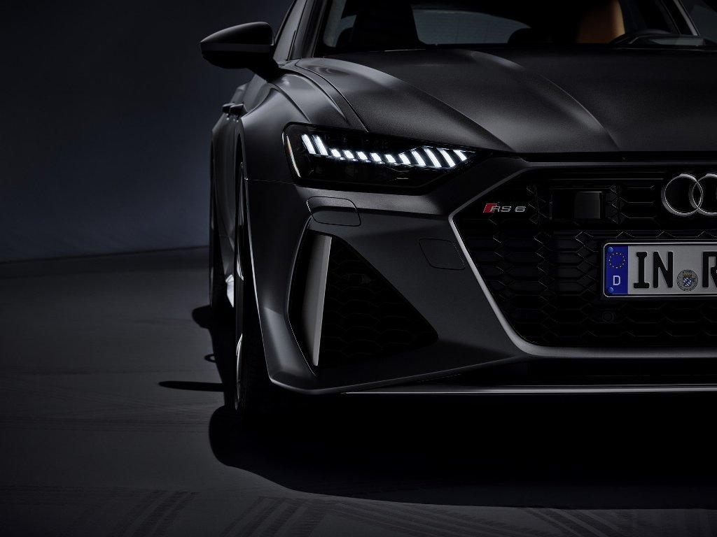 Дизайн RS 6 Avant выполнен в стиле моделей RS