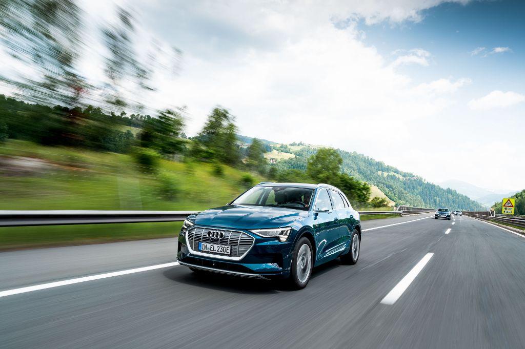 В ходе эксперимента Audi e-tron преодолел 1600 километров за 24 часа