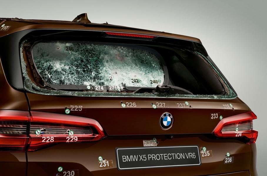 BMW X5 Protection VR6 превосходно прошел тест