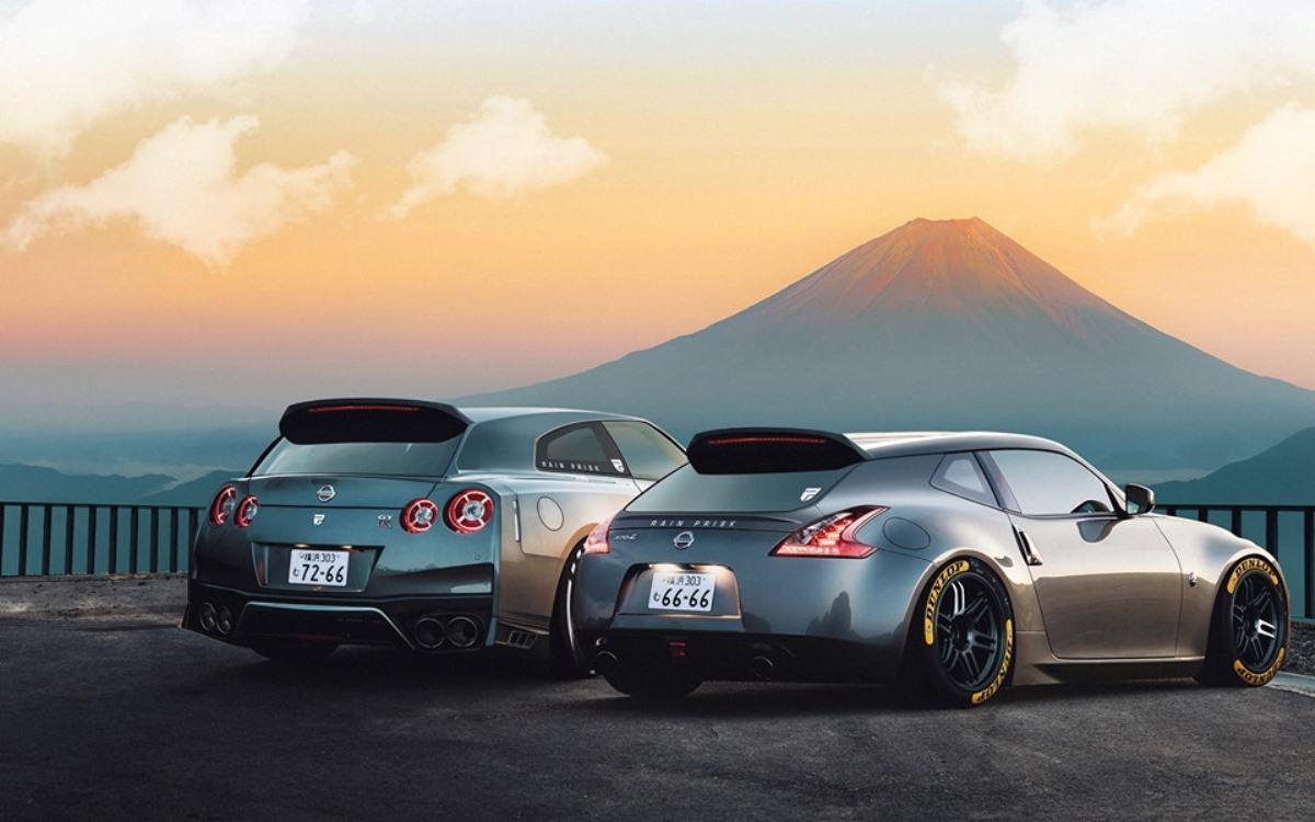 Shooting Brake Nissan GT-R и 370Z