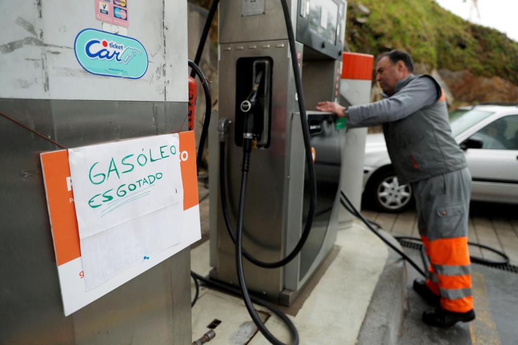 Топливо в Португалии продают не более 15 литров для одного авто