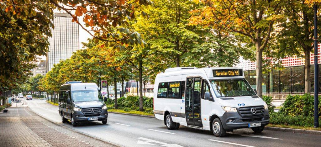 Mercedes-Benz Sprinter Transfer 45 и Sprinter City 45