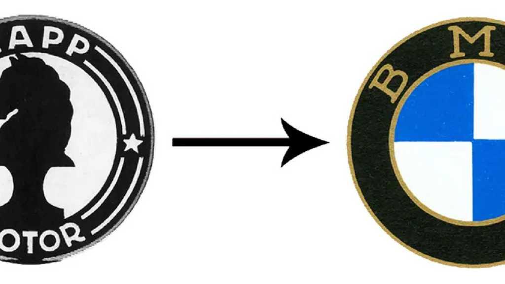 Логотипы двух производителей - Rapp Motorenwerke и BMW