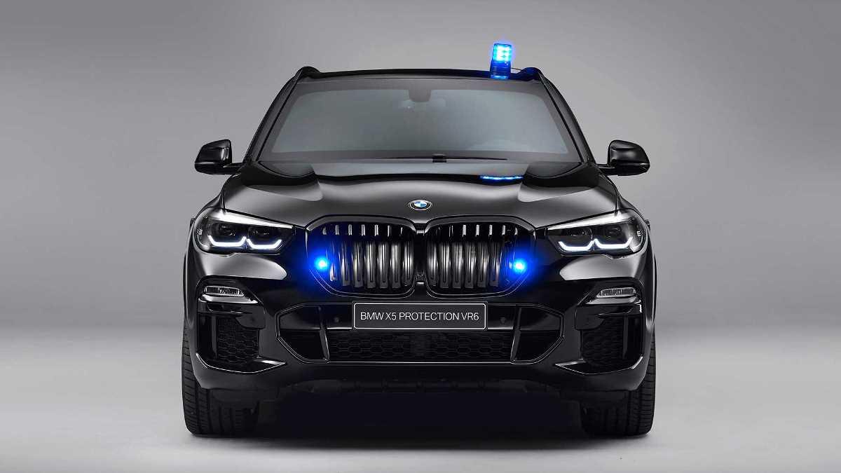 BMW выпустила бронированный X5