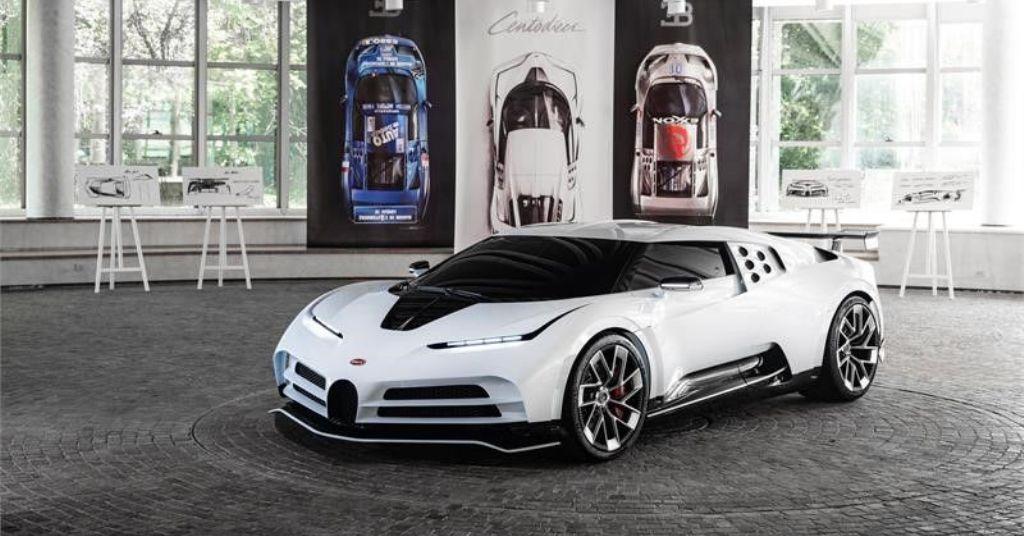 Bugatti EB110 Super Sport Hommage