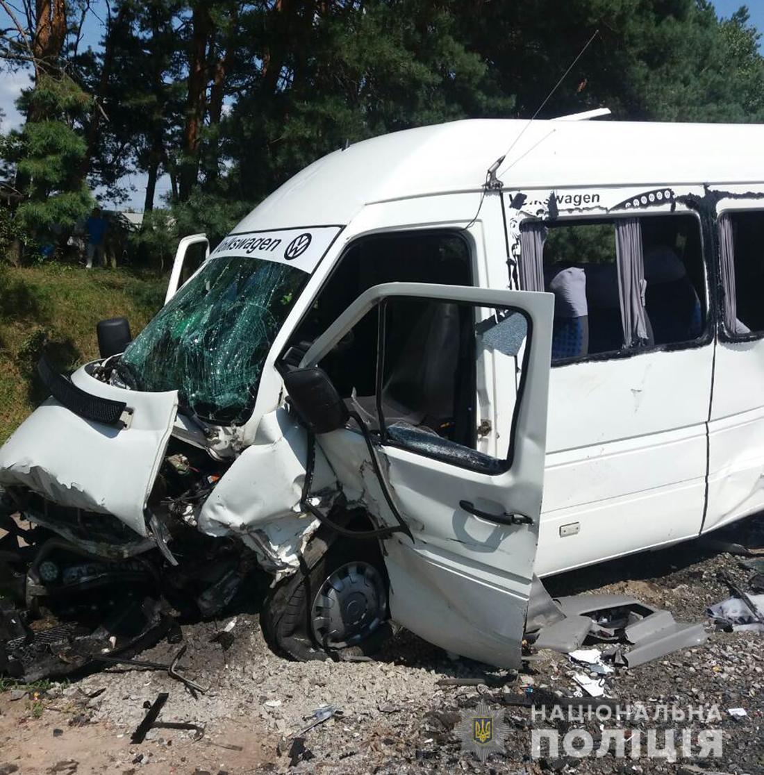 ДТП произошло возле села Тетеривка Житомирского района