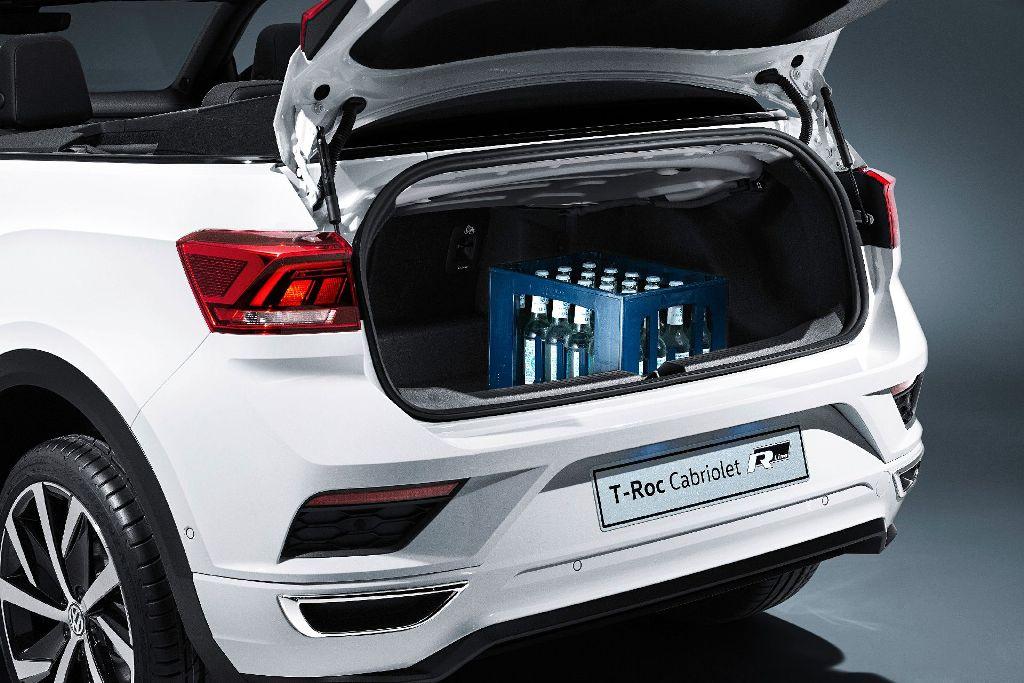 Объем багажника составляет 284 литра
