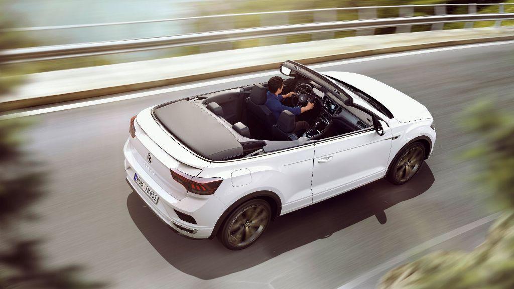 T-Roc Cabriolet получил усиленную конструкцию днища, боковых панелей, дверей и ветрового стекла