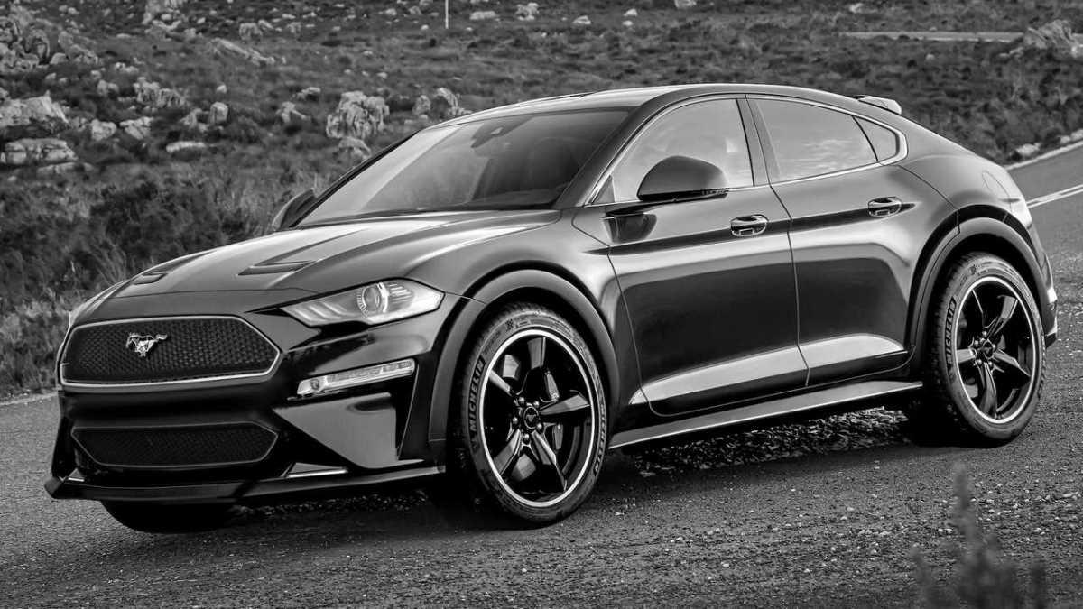 Кроссовер Ford Mustang