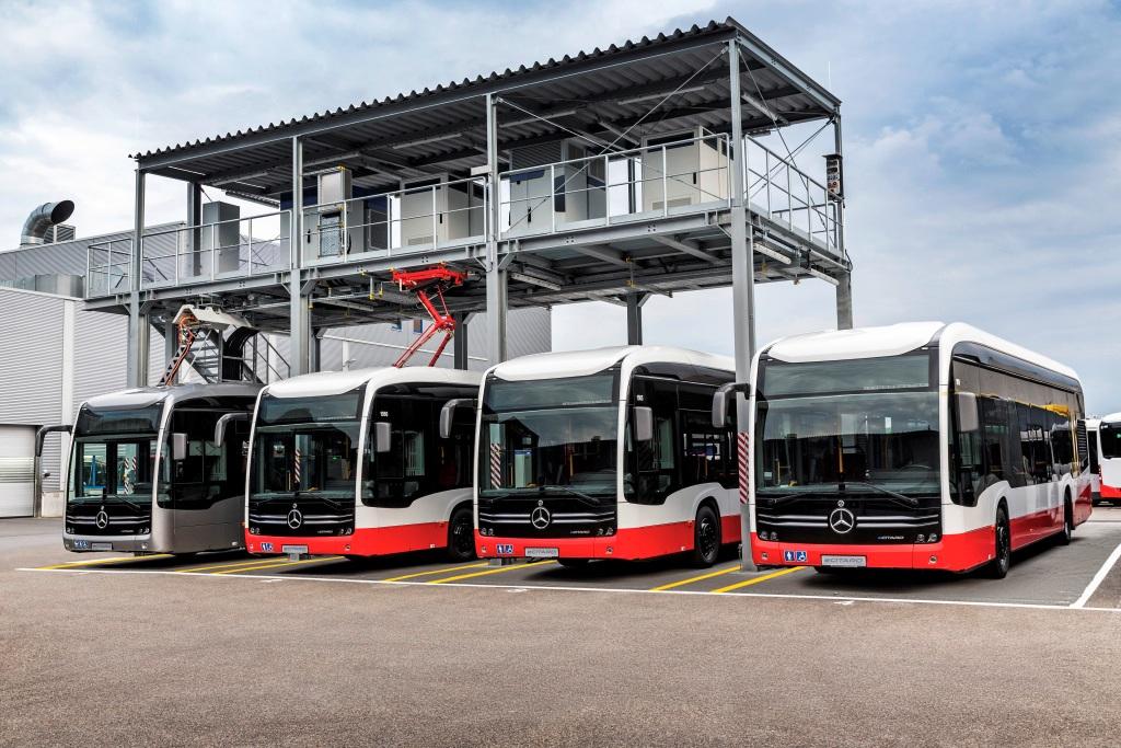 Электроавтобусы Mercedes-Benz