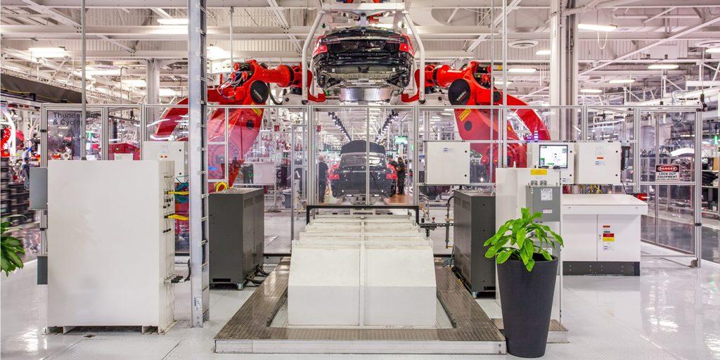 Производственные мощности Tesla