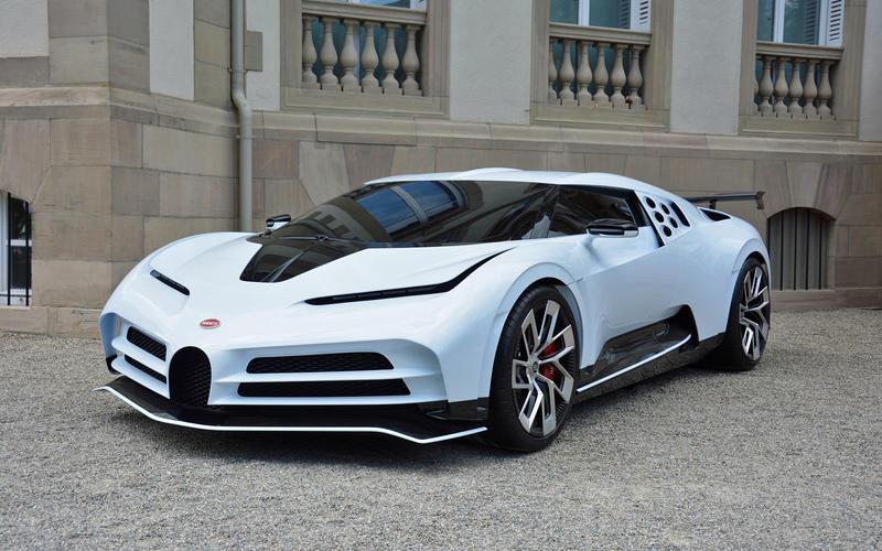 Bugatti Centodieci (2019)