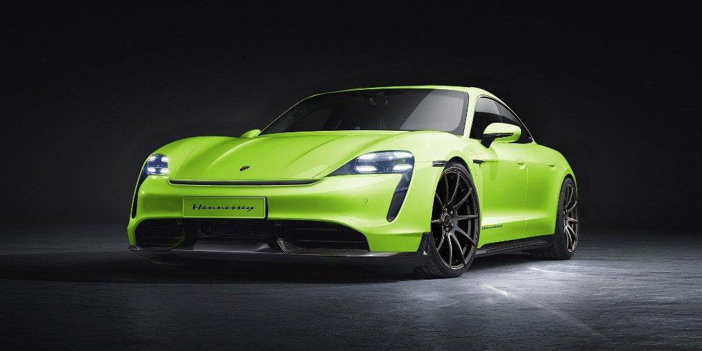 Hennessey доработает Porsche Taycan