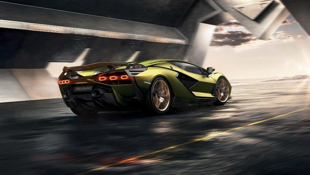 Lamborghini Sián стал самой мощной в линейке производителя