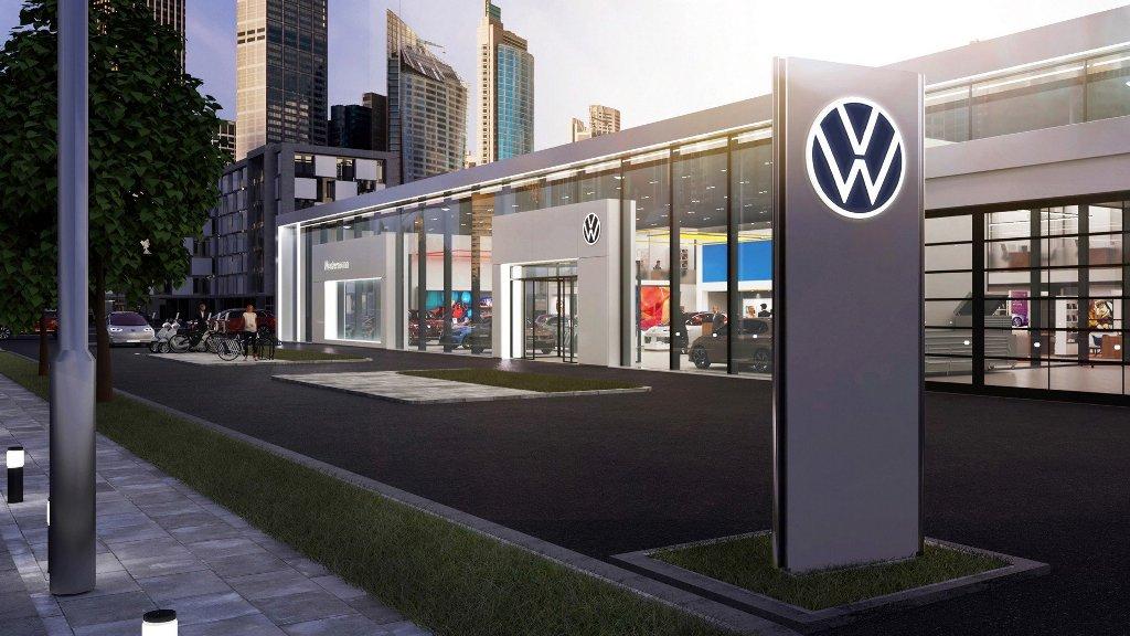 Volkswagen представил новый логотип