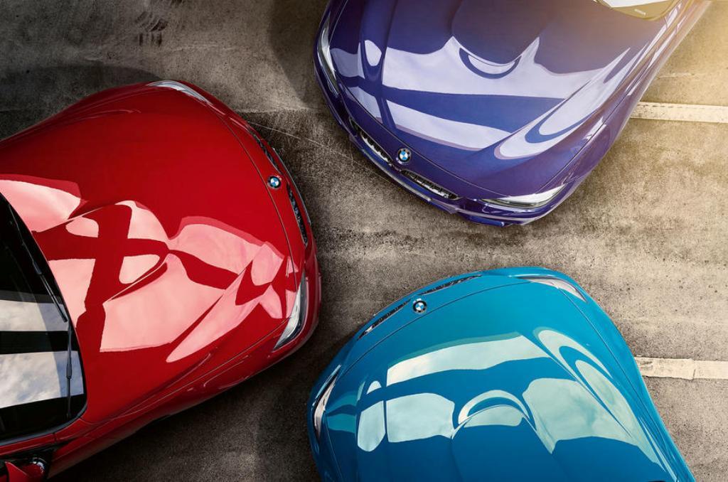 Модель будет выпускаться в трех цветах - Laguna Seca Blue, Velvet Blue металлик и Imola red