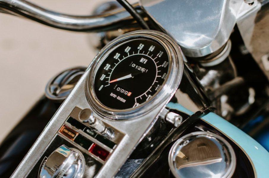 Пробег этого мотоцикла - всего 203 километра