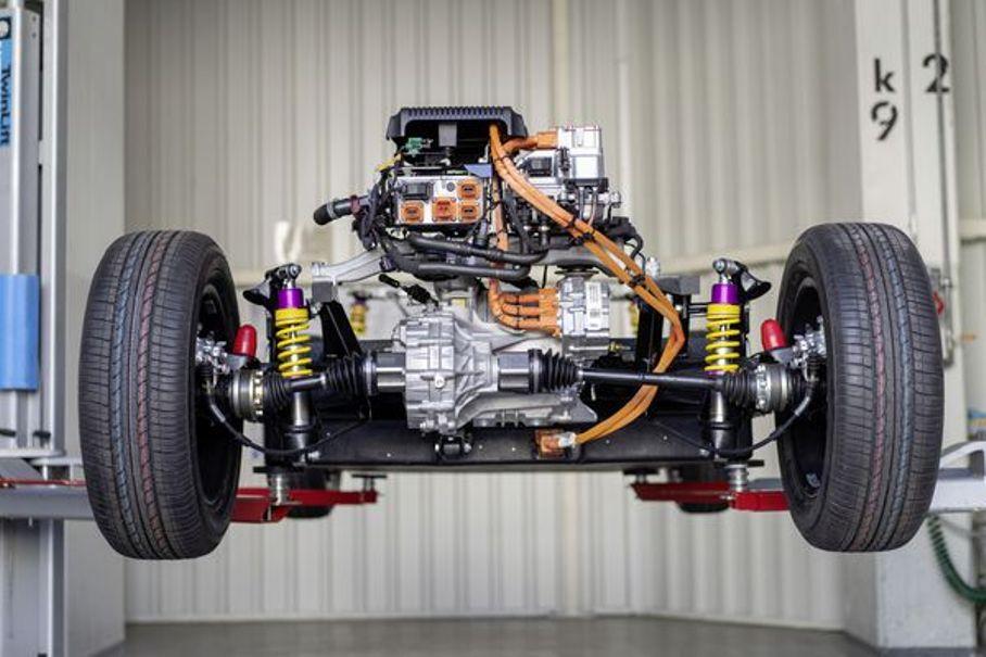 Электромотор модифицированного Beetle сможет выдать около 80 л.с.