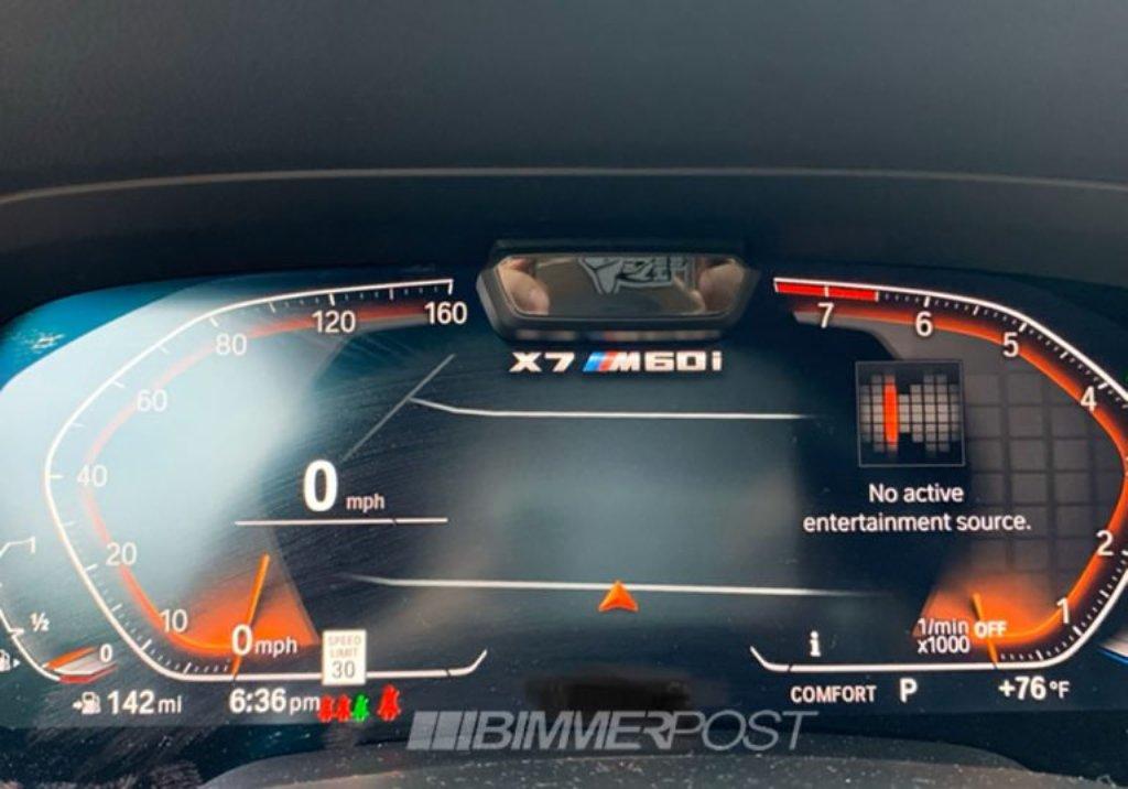 Логотип BMW X7 был заснят участниками форума BimmerPost