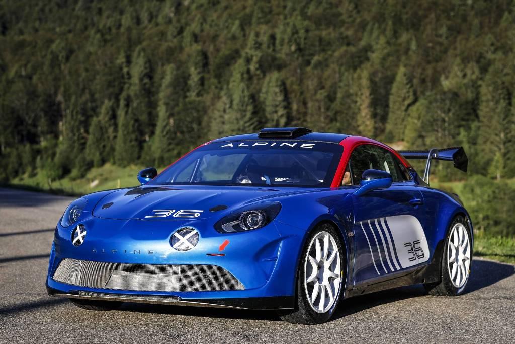 Alpine A110 Rally