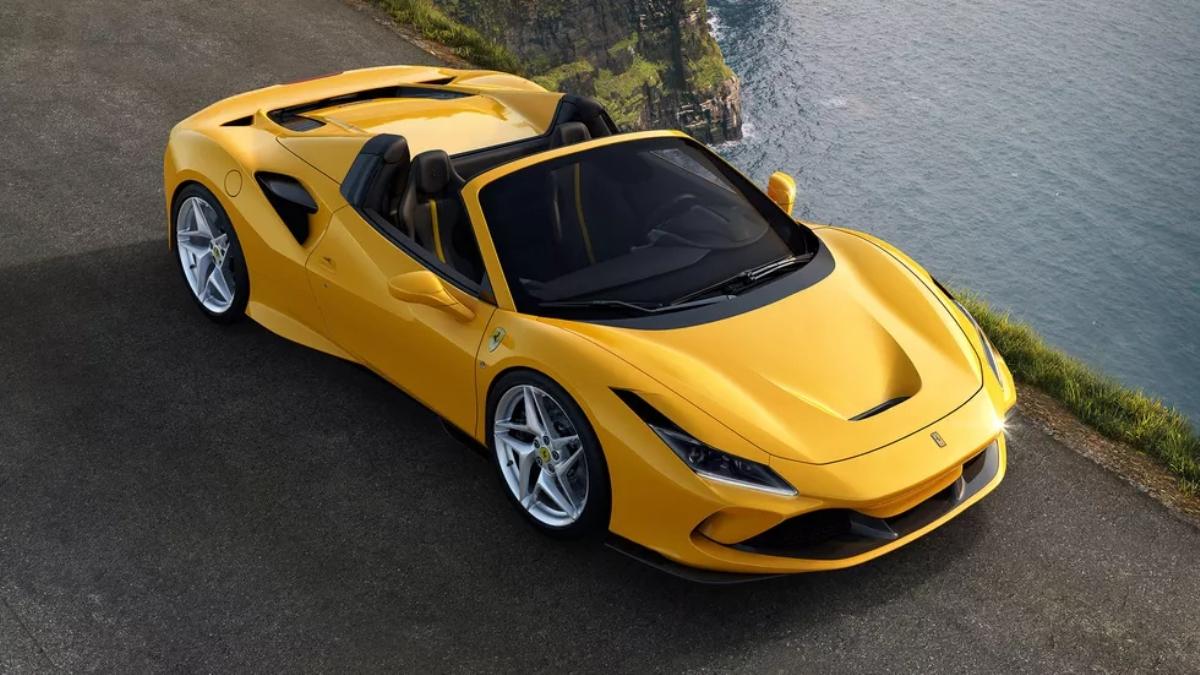 Ferrari F8 Spider дебютировал на Франкфуртском автосалоне в воскресенье