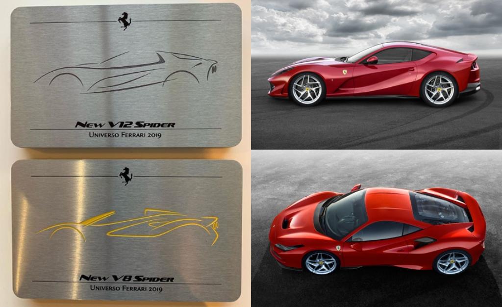 Сравнение моделей Ferrari