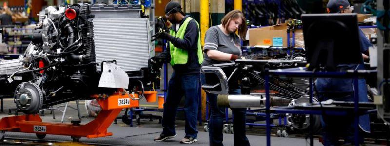 Сотрудники General Motors устроили забастовку