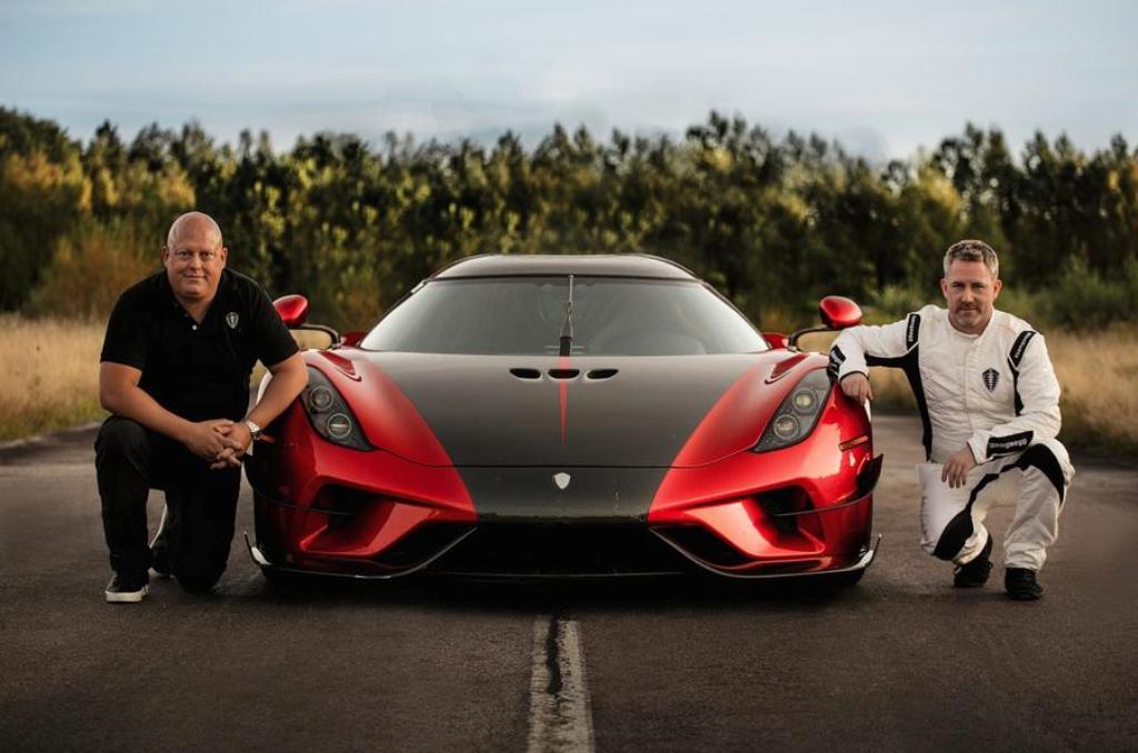 Супергибрид Regera установил новый рекорд