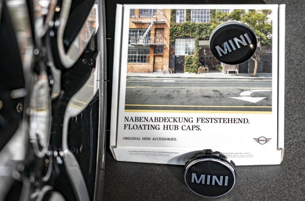 Новые заглушки для MINI разработали конструкторы компании Rolls-Royce