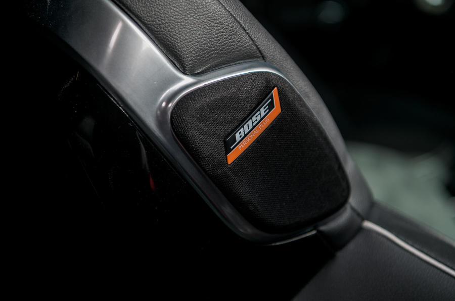 Кроссовер комплектуется аудиосистемой Bose Personal Plus