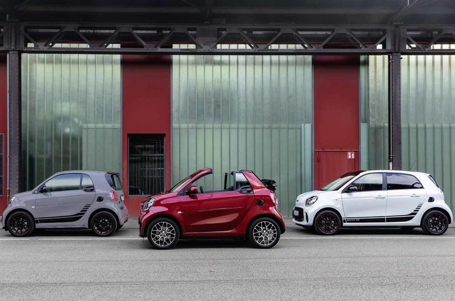 Smart EQ ForTwo и EQ ForFour