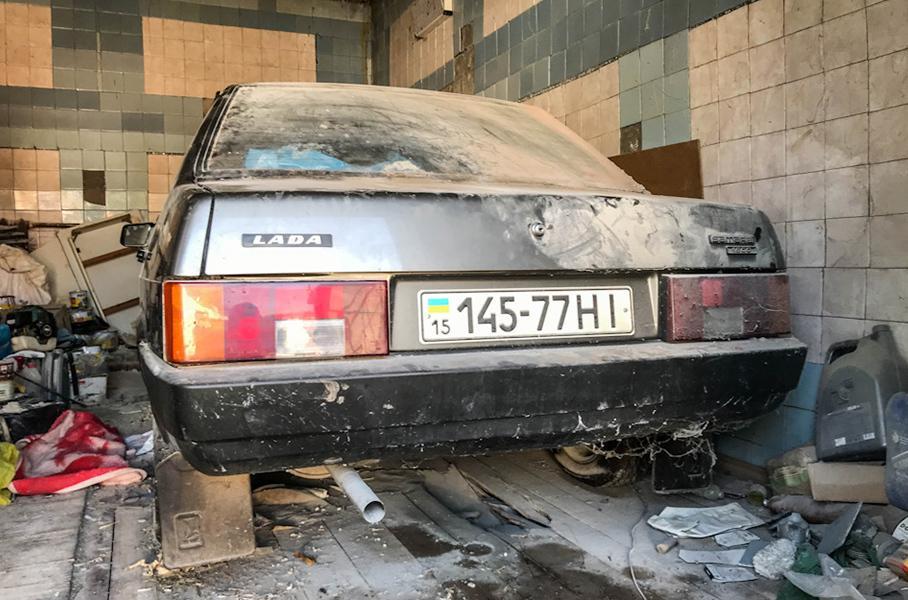 В Украине нашли уникальный ВАЗ 21099