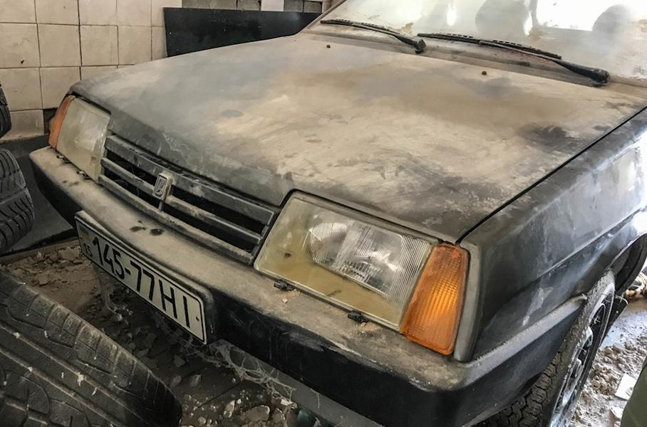 Автомобиль простоял в гараже 26 лет