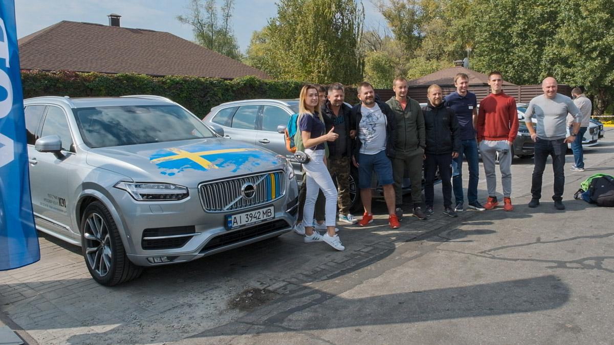 Гости мероприятия наслаждались тест-драйвом и Volvo Family Drive