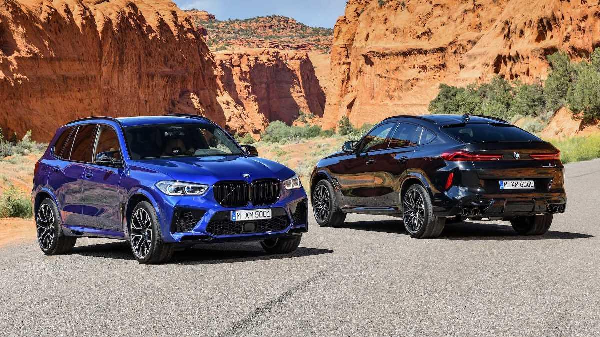 BMW представила заряженные X5M и X6M