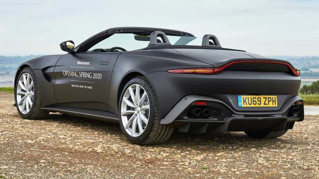 Родстер Aston Martin Vantage