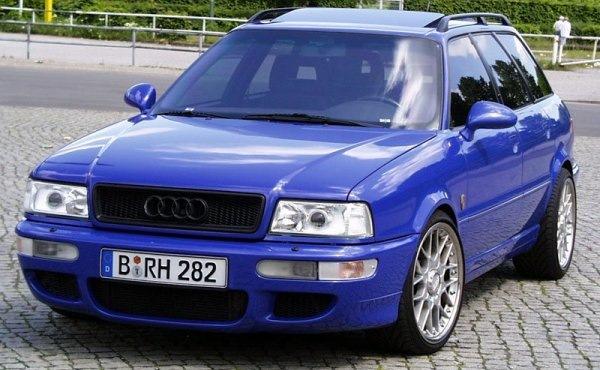 Эта модель стала первой в спортивной линейке Audi