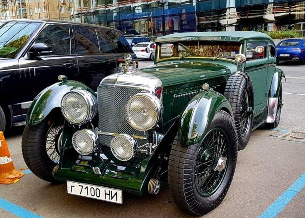 Bentley Speed 6 Sportsman Coupe