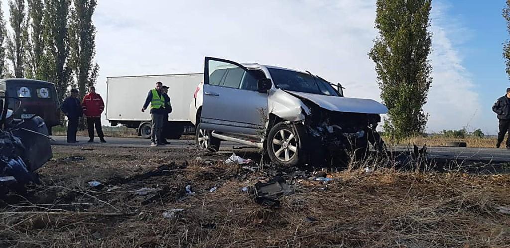 ДТП произошло на трассе Николаев-Херсон