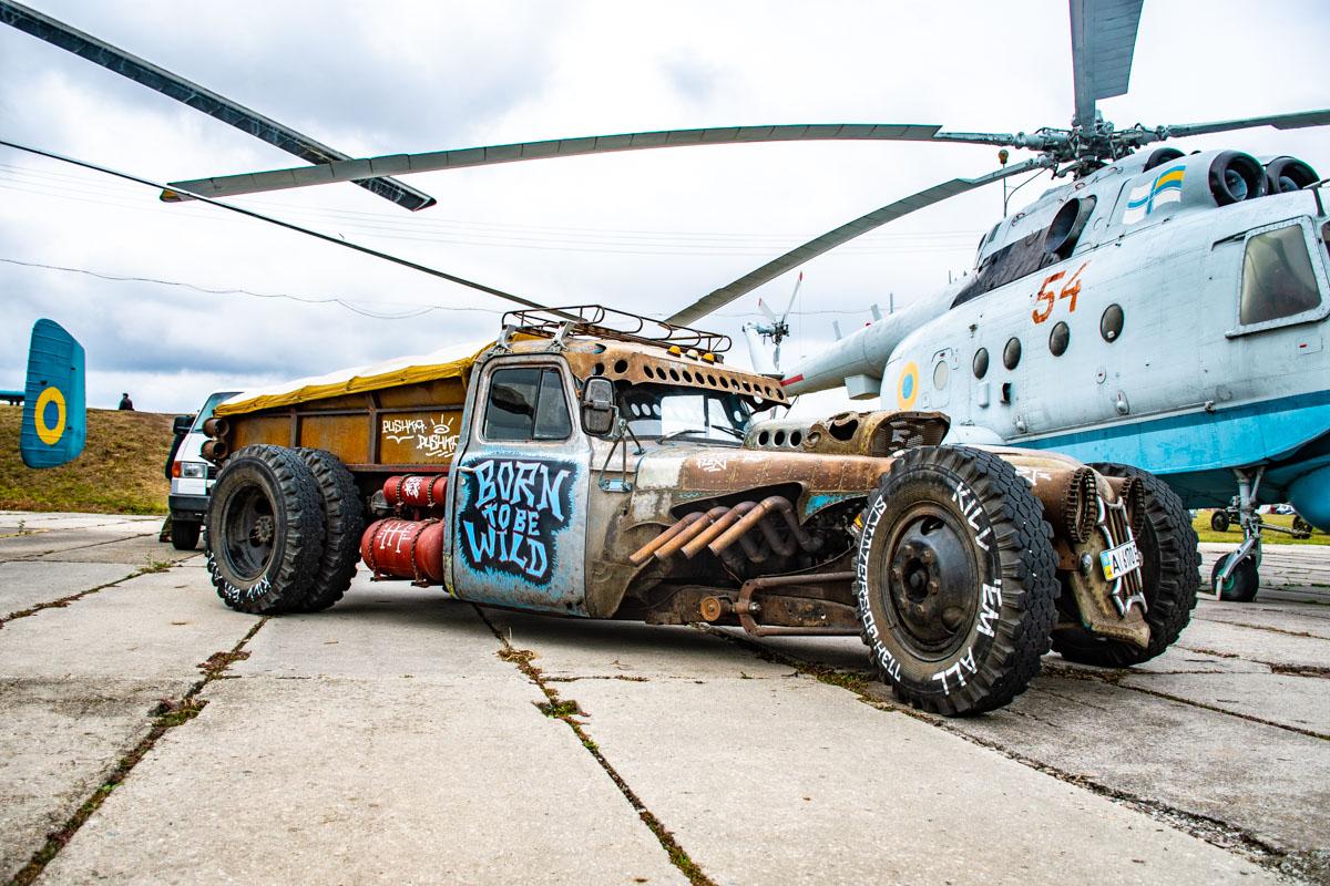 Hot-Rod на базе Газ-53