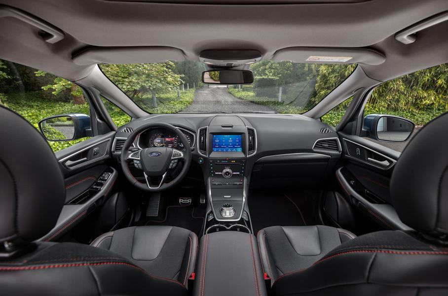 Впервые в S-MAX и Galaxy появилась технология встроенного модема FordPass Connect